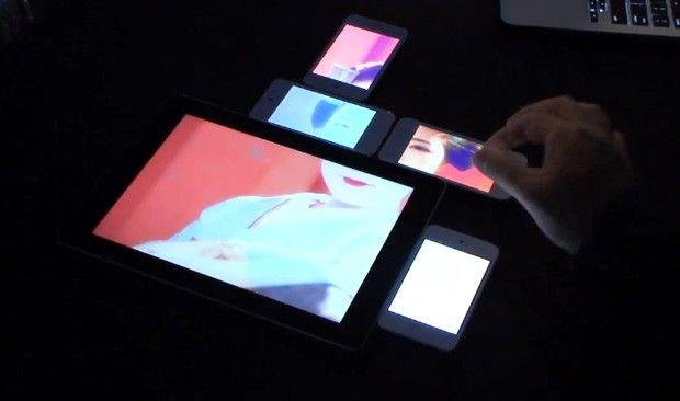 Pinch, crea videowalls con smartphones y tablets al vuelo 30