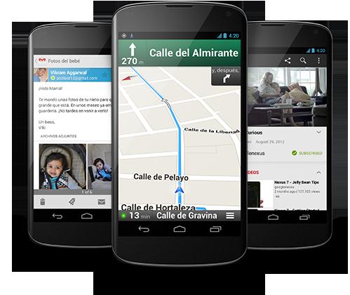 Nexus 4 ya a la venta y también bumpers para el mismo 30