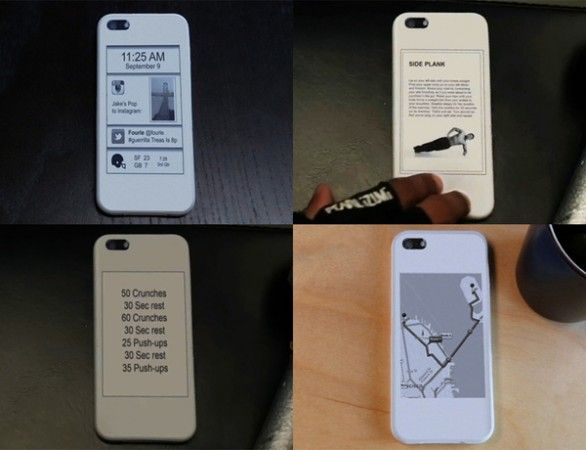 Añade una pantalla e-Ink secundaria a tu iPhone 5 con popSLATE 30