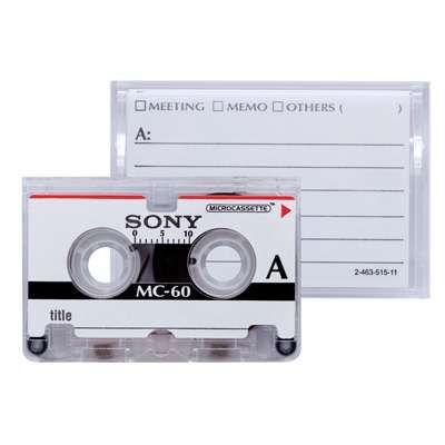 Sony dice un adiós definitivo a las cintas de cassette