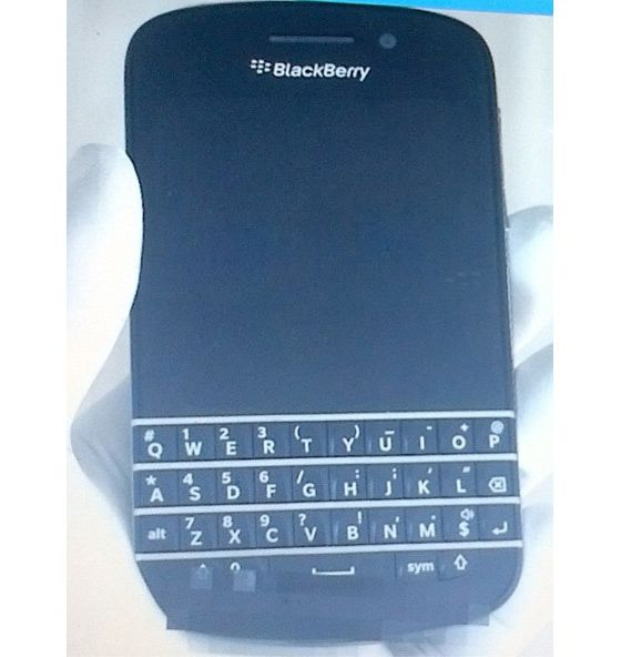 Aquí está la BlackBerry 10 N con teclado físico 31