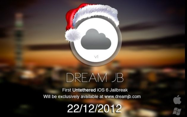 Dream JB, jailbreak untethered iPhone 5 en iOS 6 el 22 de diciembre