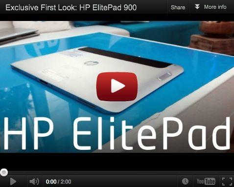 Primer vistazo a HP ElitePad 900
