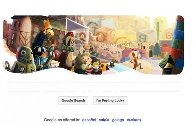 Google nos desea Felices fiestas con su nuevo Doodle 38