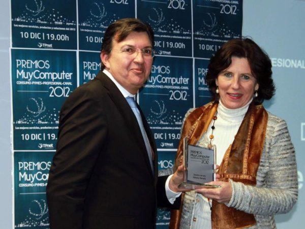 Directivo del anyo Helena Herrero 600x450 Premios MuyComputer 2012, todo un éxito