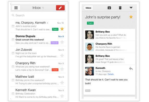 Llega Gmail 2.0 para iPhone e iPad con grandes mejoras 28