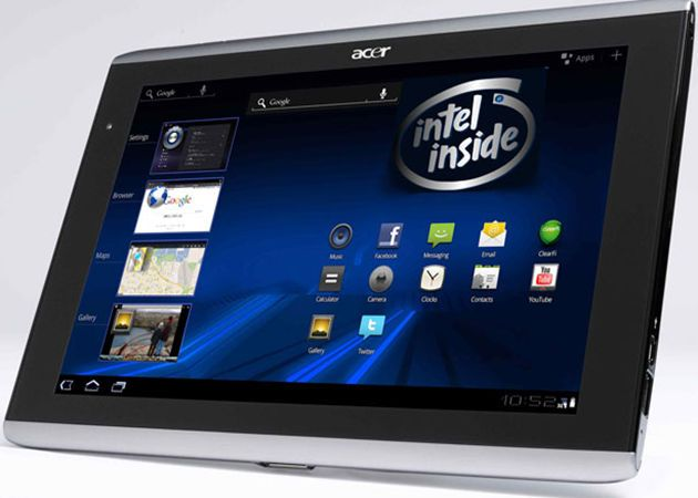 Tablet Intel Clover Trail, pero con Android 29