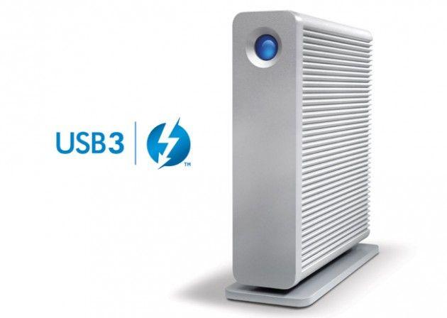 LaCie d2, disco duro externo ahora con USB 3.0 y Thunderbolt