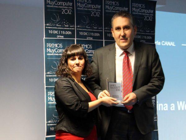 Mayorista del Año Afina a Westcon Group company Fernando Ayllon 600x450 Premios MuyComputer 2012, todo un éxito