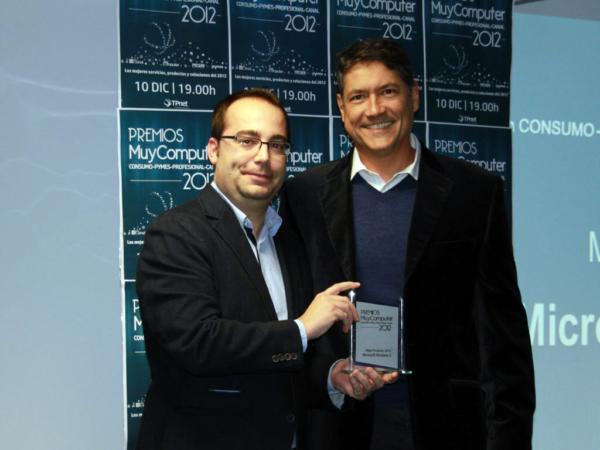 Mejor Producto 2012 Windows8 Fernando Calvo 600x450 Premios MuyComputer 2012, todo un éxito