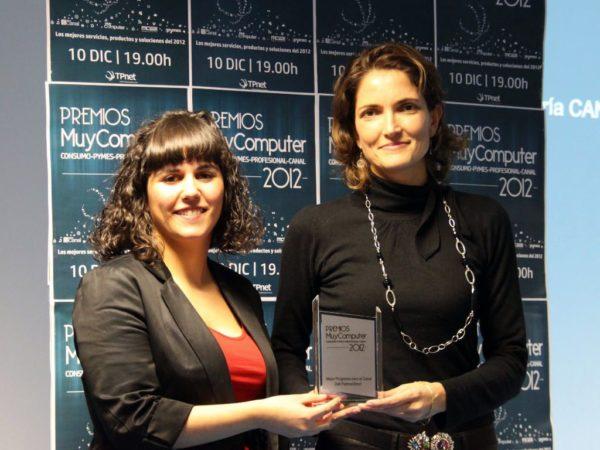 Mejor Programa para el Canal Dell PartnerDirect Beatriz Ordonez 600x450 Premios MuyComputer 2012, todo un éxito