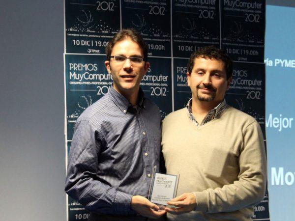 Mejor Solucion Tecnológica de Movilidad Movistar Con Tu Negocio Jose Antonio Saborido Fernandez 600x450 Premios MuyComputer 2012, todo un éxito