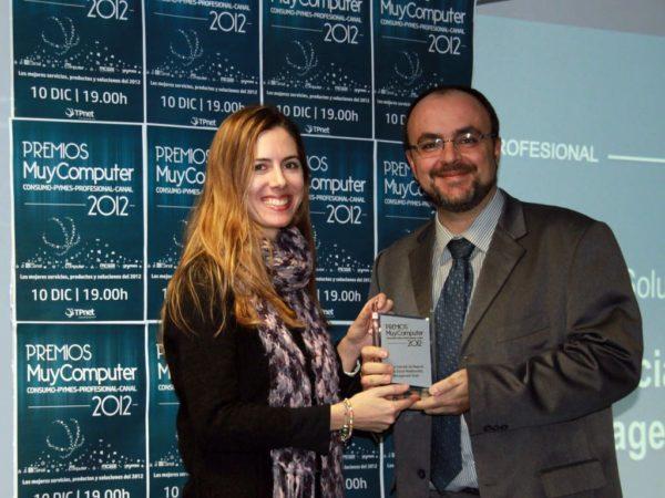 Mejor solucion de negocio Oracle Social Relationship Management Suite Fabian Gradolph 600x450 Premios MuyComputer 2012, todo un éxito