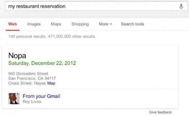 Google prueba la búsqueda simultánea en Google.com, Gmail y Drive
