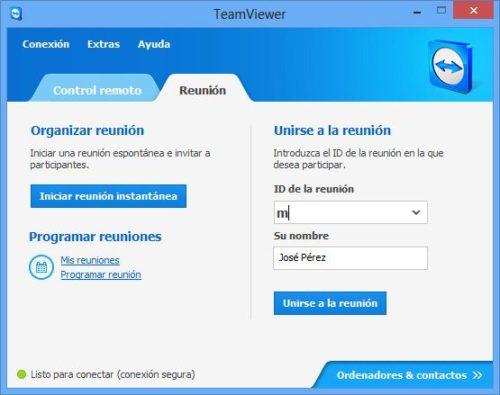 TeamViewer 8, disponible 35