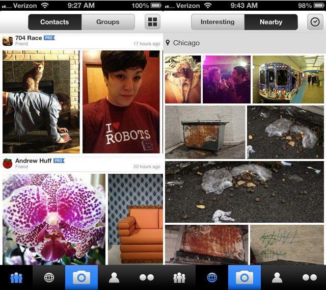 Yahoo! actualiza la app para iOS de Flickr 33
