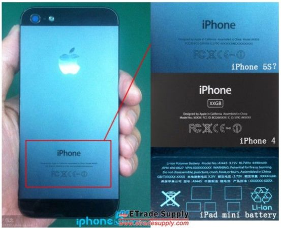 Primeras imágenes del presunto iPhone 5S 32