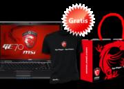 Promoción gaming de Navidad MSI, portátil GE70 con regalos 35