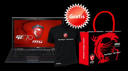 Promoción gaming de Navidad MSI, portátil GE70 con regalos 31