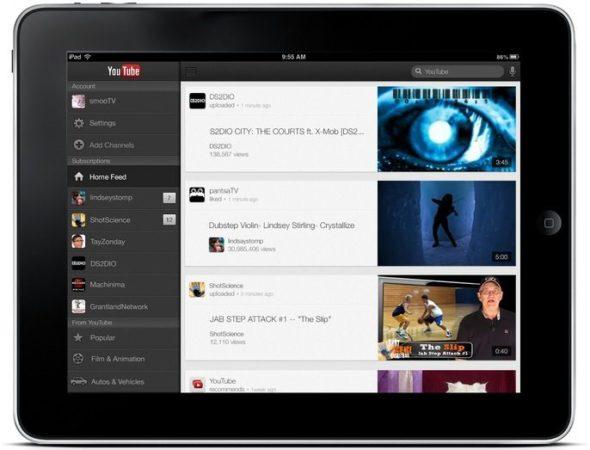 YouTube se renueva para el iPad y el iPhone 5 36