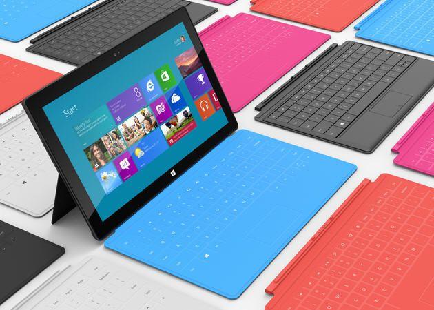 La demanda navideña de Microsoft Surface es modesta