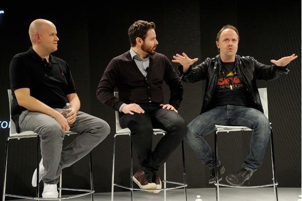 Metallica, la verdugo de Napster, se alía con Spotify 31