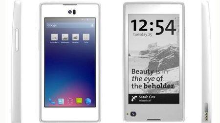 YotaPhone, smartphone con dos pantallas, LCD + e-Ink 30