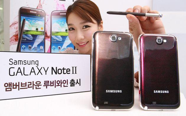 Samsung relanza el Galaxy Note II en nuevos colores 29