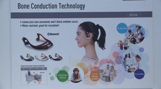 Panasonic presenta auriculares seguros, transmiten el sonido vía tu hueso 32
