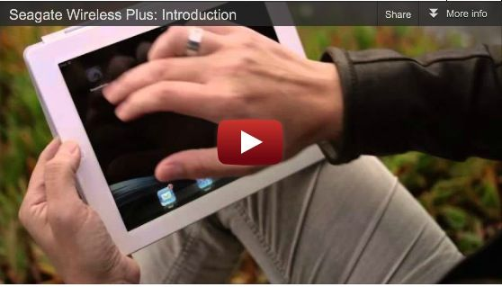 Seagate Wireless Plus Introduction