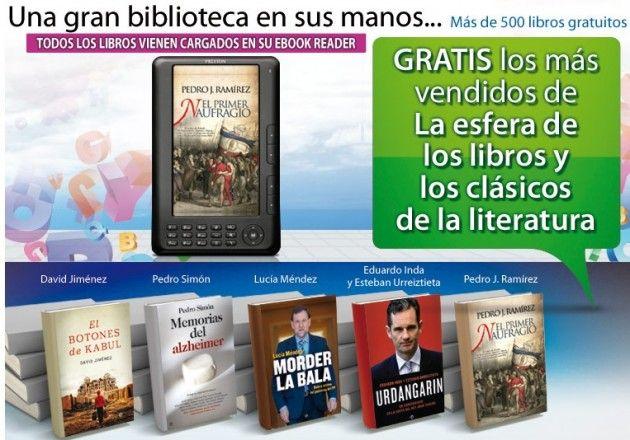 """Veamos si merece la pena el NO """"eBook Reader"""" del periódico El Mundo 33"""