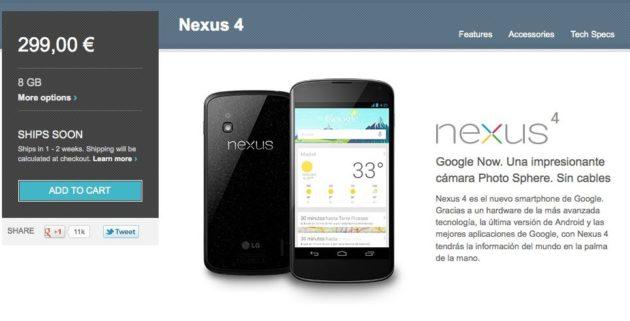 Se deja ver un Nexus 4 blanco, ¡si quieres uno negro corre! 31