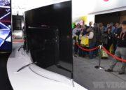 LG también presenta la primera TV OLED curvada 34