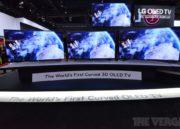 LG también presenta la primera TV OLED curvada 36
