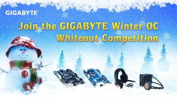 GIGABYTE Winter OC Whiteout, nuevo concurso para overclockers