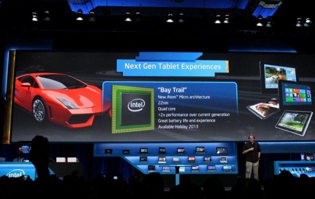 Intel presenta Bay Trail, nuevos Atom 22 nm y 4X para tablets 29