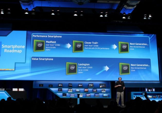 Intel presenta los chips CloverTrail+ para smartphones 31