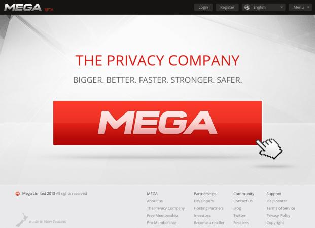 MEGA recibe los primeros avisos de violación de copyright 30