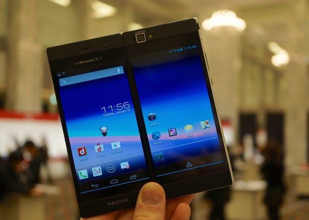 NEC Medias W, un smartphone con una curiosa pantalla doble