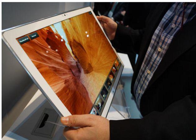 Panasonic impresiona con un tablet de 20 pulgadas, 4K y Windows 8 30