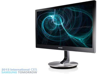 Samsung impulsa la llegada de monitores táctiles para Windows 8