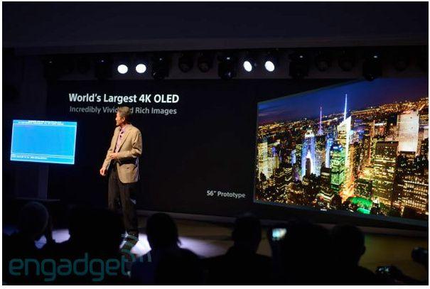 Sony presenta el mayor televisor OLED 4K de la industria 27
