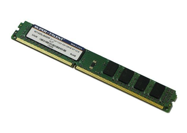 RAM Super Talent VLP DDR3, módulos muy muy bajitos 29