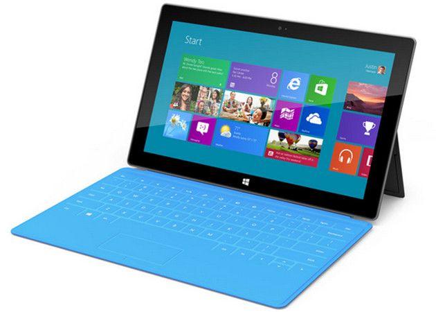 Surface RT llega a España en febrero y Surface Pro a EE.UU. 29