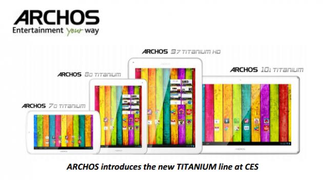 Completa línea de tablets Android - ARCHOS Titanium 33