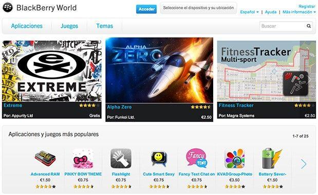 RIM prepara el lanzamiento de BlackBerry OS 10, Apps desde 0,75€