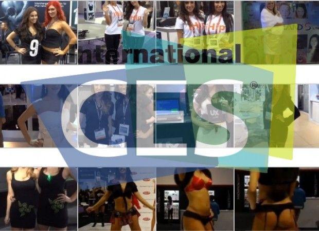 Las 54 BoothBabes más llamativas de CES 2013 27