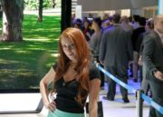 Las 54 BoothBabes más llamativas de CES 2013 131