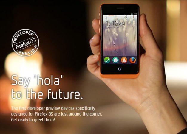 Mozilla presenta sus smartphones para desarrolladores basados en Firefox OS