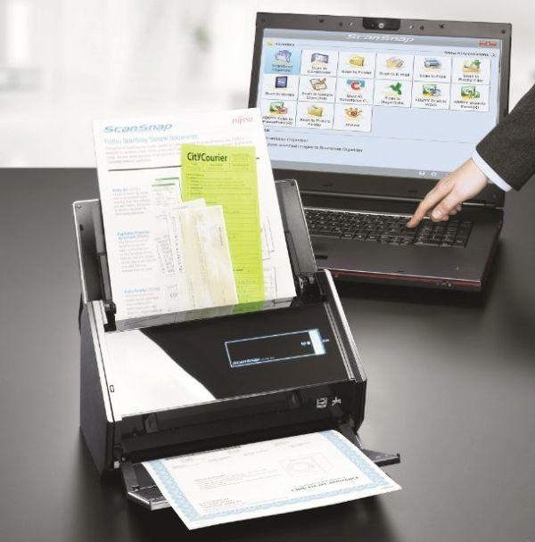 Fujitsu ScanSnap iX500: escanea desde el tablet o smartphone